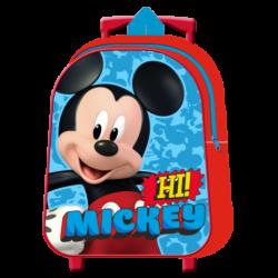 Mochila Trolley Mickey Disney 31cm.