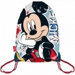 Saco Mochila Mickey Disney 33x44cm.