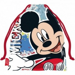 Saco Merienda Mickey Disney 26,5x21,5cm.