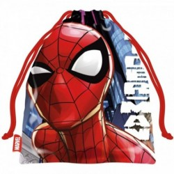 Saco Merienda Spiderman MARVEL 26,5x21,5cm.
