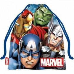 Saco Merienda Avengers MARVEL 26,5x21,5cm.