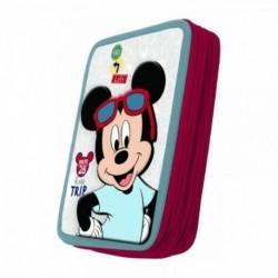 Plumier 3D Doble Mickey Disney