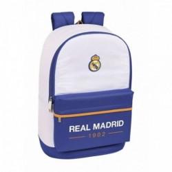 Mochila Real Madrid Adaptable 31x15x47cm.
