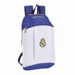 Mini Mochila Real Madrid 22x10x39cm.