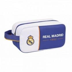 Zapatillero Real Madrid Mediano 29x14x15cm.