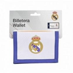 Billetera Real Madrid 12x9.5cm.