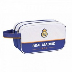 Neceser Doble Real Madrid Adaptable 26x15x12,5cm
