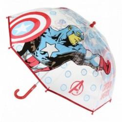 Paraguas Manual Avengers Marvel Transparente 45cm.