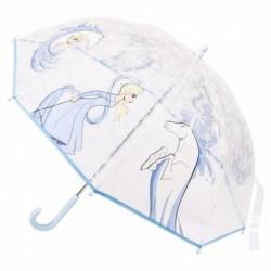 Paraguas Manual Frozen Disney Transparente 45cm.