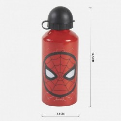 Botella Aluminio Spiderman Marvel 500ml