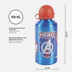Botella Aluminio Avengers Marvel 500ml