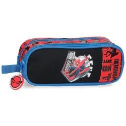 Portatodo Doble Spiderman Marvel 23x9x7cm.
