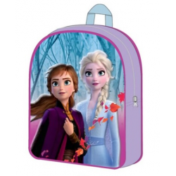 Mochila 3D Frozen ll Disney 30x26x10cm.