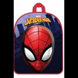 Mochila 3D Spiderman Marvel 30x26x10cm.