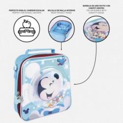 Neceser Comedor Confetti Mickey Disney 22x23x8cm.
