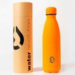 Botella Naranja Fluor Water Revolution 500ml