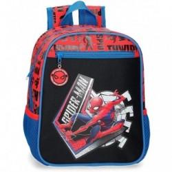 Mochila Peq. Spiderman Marvel 23x28x10cm.