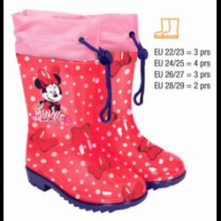 Botas Agua Minnie Disney 12Und. T.22 al 29