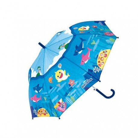 Paraguas Automatico Baby Shark 48cm.