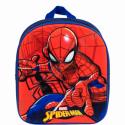 Mochila 3D Spiderman Marvel 31x25cm.