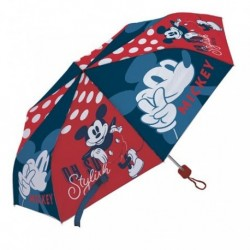Paraguas Plegable Mickey Disney Manual 52cm.
