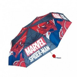 Paraguas Plegable Spiderman Mavel Manual 52cm.