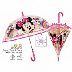 Paraguas Poe Burbuja Minnie Disney Automatico 45/8