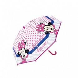 Paraguas Eva Transparente Minnie Disney Manual 46cm.