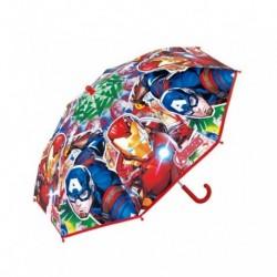 Paraguas Eva Transparente Avengers Marvel Manual 46cm.