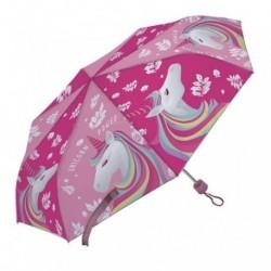 Paraguas Plegable Unicornio Manual 52cm.