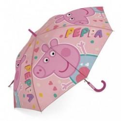 Paraguas Automatico Peppa Pig 48cm.