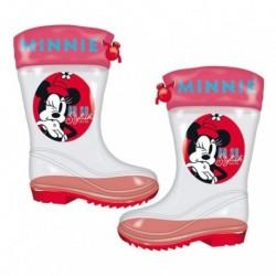 Botas De Agua Mickey Disney Transparente 12 Und. T. 24 al 32