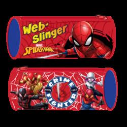 Portatodo Cilindrico Spiderman Marvel 23x8cm.