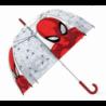 Paragua Automatico Burbuja Spiderman Marvel 46cm.