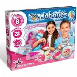 Fabrica Juego Cientifico, 8 Actividades, Libro Educativo-Regalo para Niños  Color fabrica de jabones