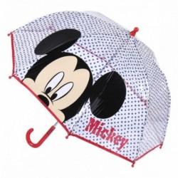 Paraguas Poe Burbuja Mickey Disney Manual 45cm.