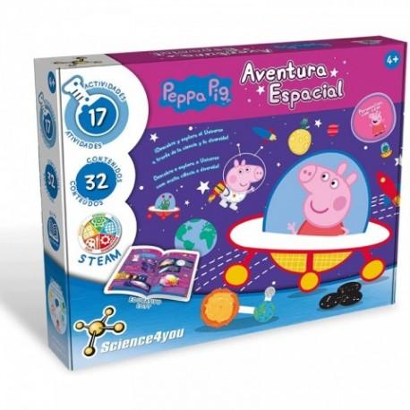 Juego LA Aventura Espacial DE Peppa Pig con 17 Actividades,