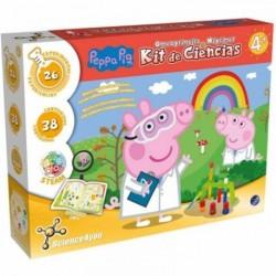 Juego Kit DE Ciencias DE Peppa Pig con 26 EXPERIMENTOS,
