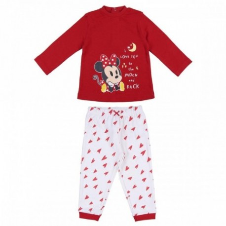 Pijama Baby Minnie Disney 8Und.T. 6 a 24 Meses