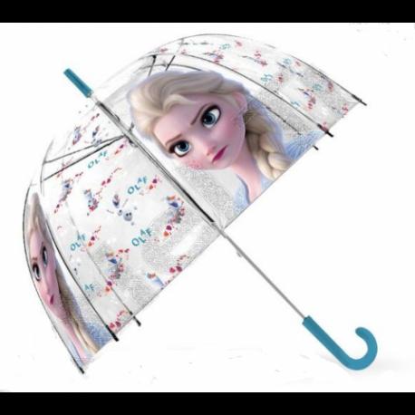 Paragua Automatico Burbuja Frozen ll Disney 46cm.