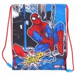 Bolsa Merienda Spiderman Marvel 25cm.