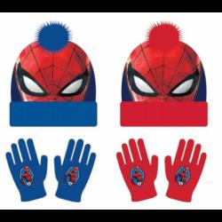 Conjunto Gorro Guantes Spiderman Marvel
