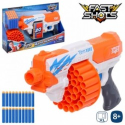 METRALLETA LANZADARDOS FAST SHOTS 42 X 7 X 25 CM