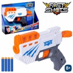 PISTOLA LANZADARDOS FAST SHOTS 25 X 17 X 5 CM
