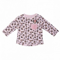 Camiseta Baby Minnie Disney 8Und. T. 6 a 24 Meses