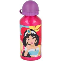 Botella Aluminio Princesas 400ml.