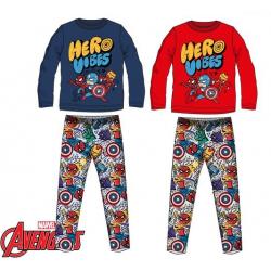 Pijama Algodon Avengers Marvel 4Und. T. 4-6-8-10