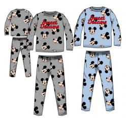 Pijama Algodon Mickey Disney 4Und. T. 3-4-6-8