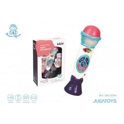 Microfono Infantil, con Sonidos 21cm