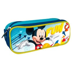 Portatodo Mickey Disney Doble 22x6x8cm.